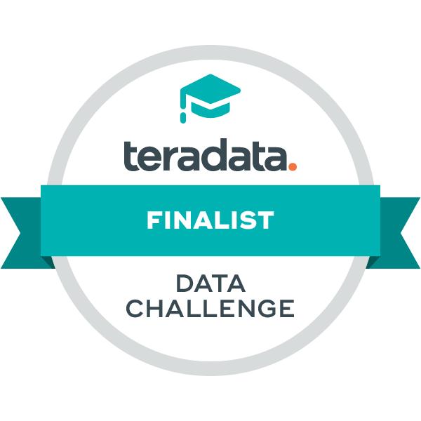 Teradata Data Challenge Finalist