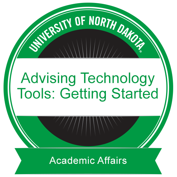 Advising Technology Tools: Getting Started