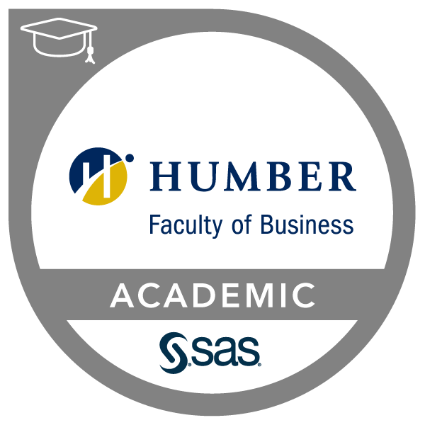 SAS-Humber College Joint Certificate in Marketing Analytics