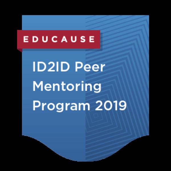 ID2ID Peer Mentoring Program 2019