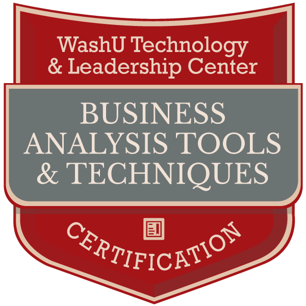 Business Analysis Tools & Techniques