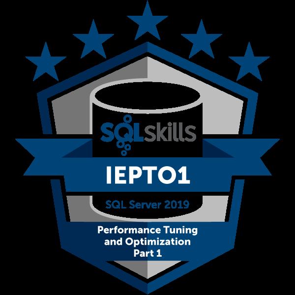 SQLskills IEPTO1 - SQL Server 2019