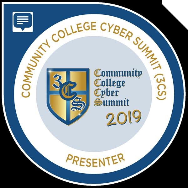 Community College Cyber Summit (3CS) Presenter