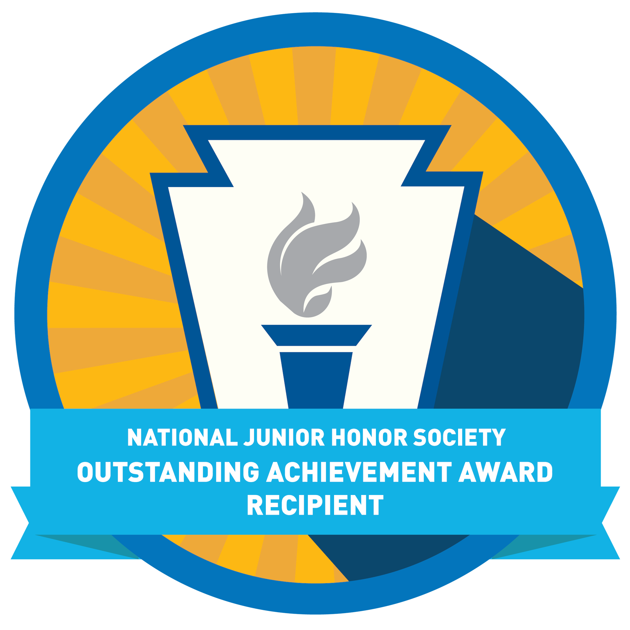 National Junior Honor Society Outstanding Achievement Award Recipient