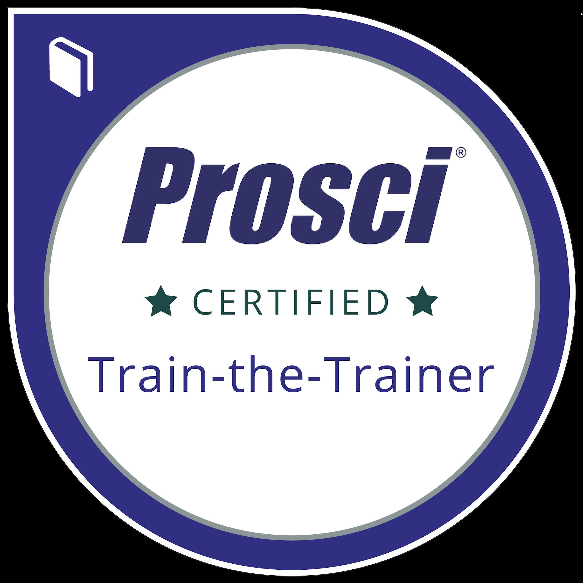 Prosci® Train-the-Trainer