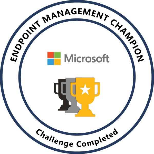Endpoint Management Champion FY20