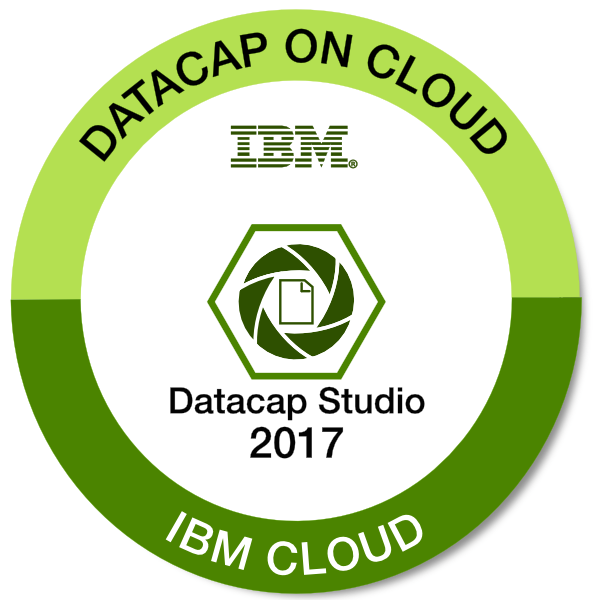 IBM Datacap on Cloud - Define Applications with Datacap Studio - 2017