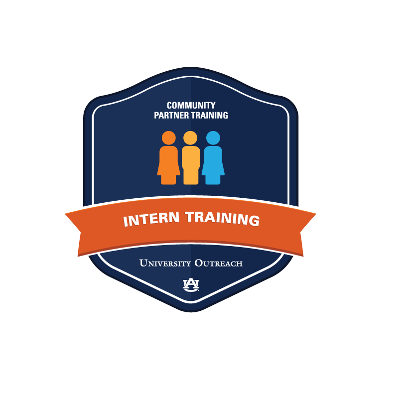 Community Partner Training Badge 2: Intern Training & Placement