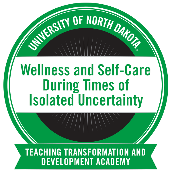 Wellness and Self-Care During Times of Isolated Uncertainty