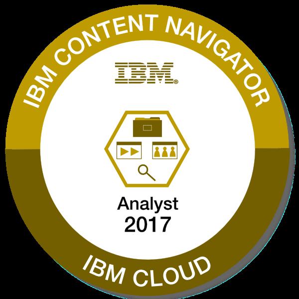 IBM Content Navigator - Analyst - 2017