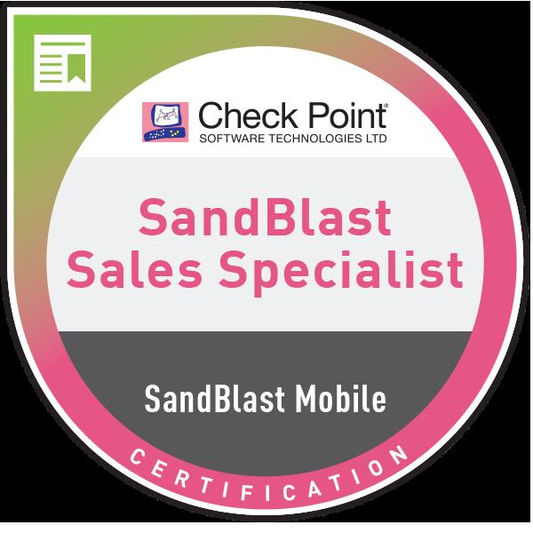 CCSBMS – SandBlast Mobile sales certification - Acclaim