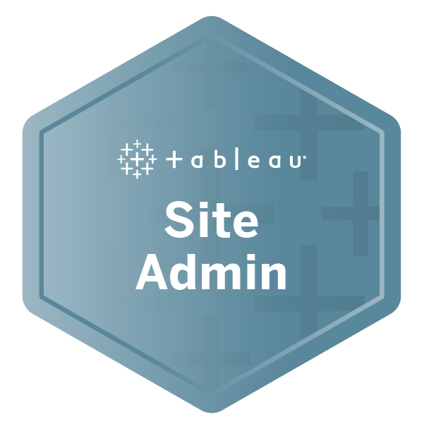 Tableau Site Administrator