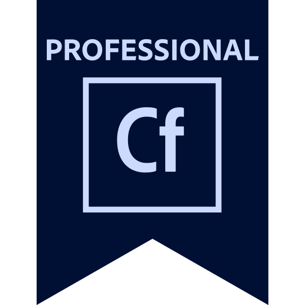 Adobe Certified Professional – Adobe ColdFusion