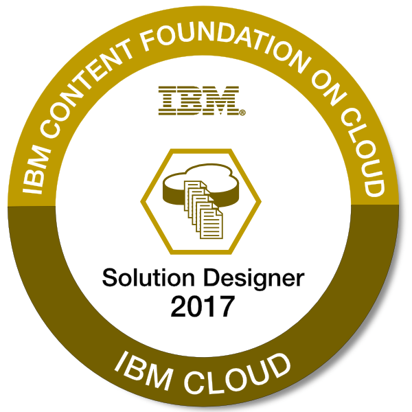 IBM Content Foundation on Cloud - Solution Designer - 2017