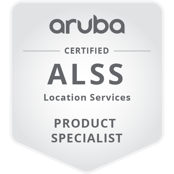 HPE Product Certified - Aruba Certified Location Services