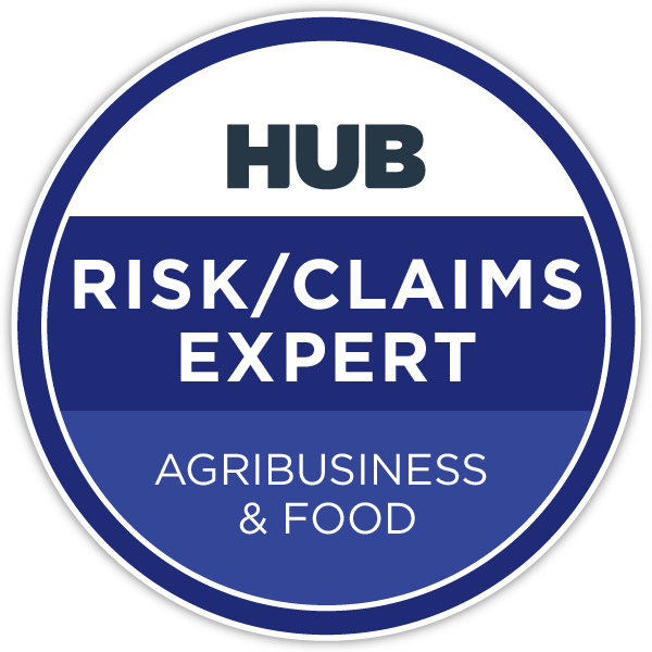 HUB Specialty Risk/Claims Expert - Agribusiness & Food