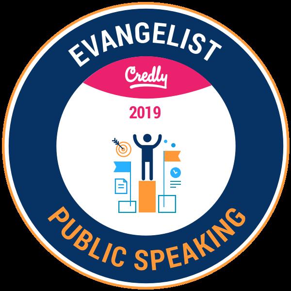 Evangelist: Public Speaking 2019