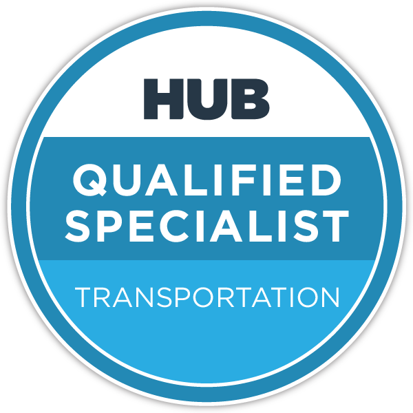 HUB Qualified Specialist - Transportation