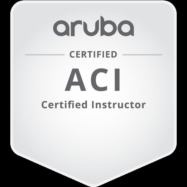 Aruba Certified Instructor