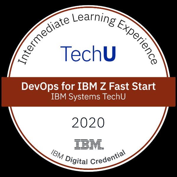 2020 TechU DevOps for IBM Z Fast Start