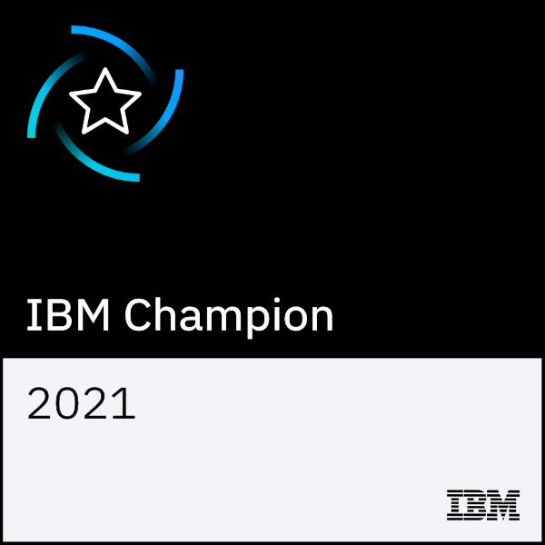 IBM Champion 2021