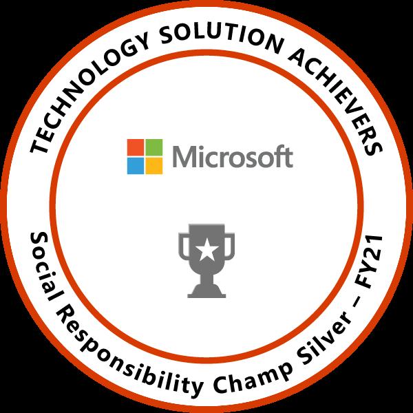 Social Responsibility Champ Silver
