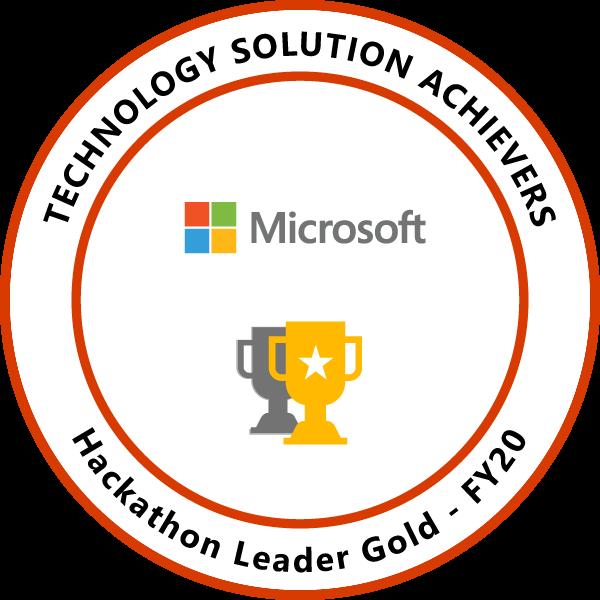 Hackathon Leader Gold