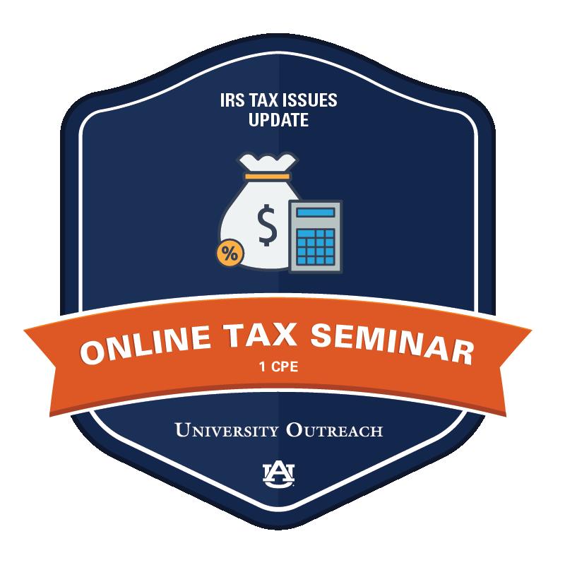 Online Tax Seminar: IRS Tax Issues Update - 1 CPE