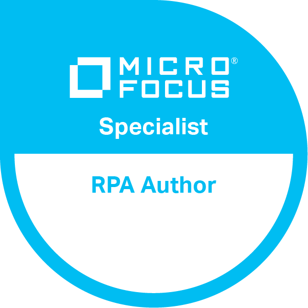 Robotic Process Automation Author Specialist