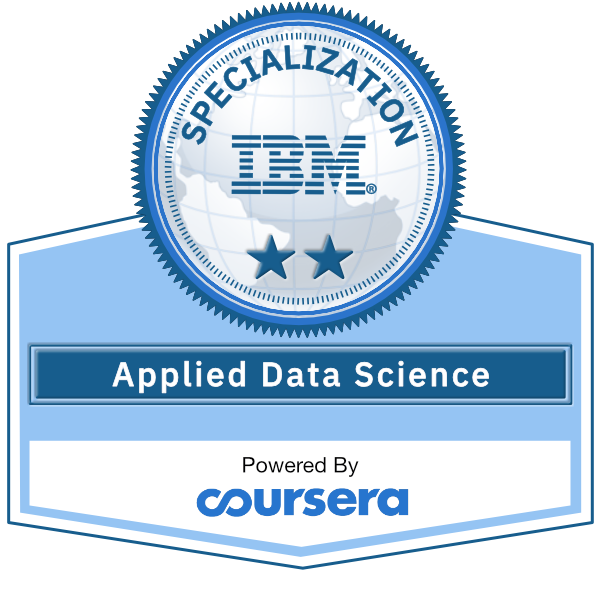 Applied Data Science Specialization