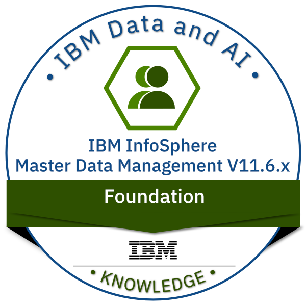 IBM Infosphere Master Data Management V11.6.x Foundation