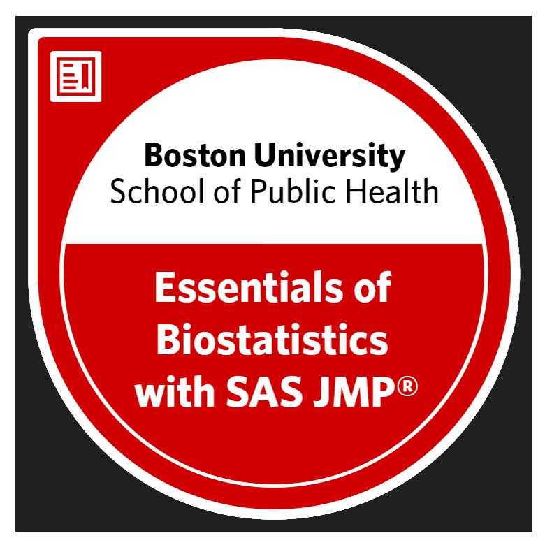 Essentials of Biostatistics with SAS JMP®