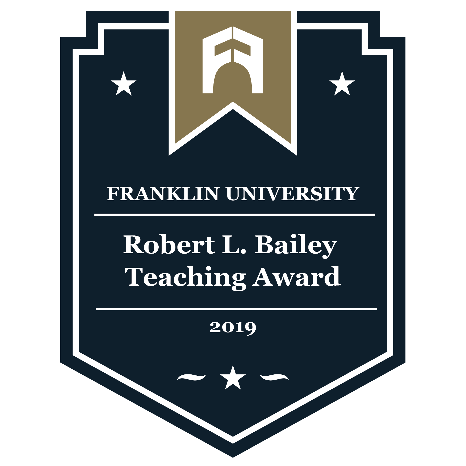 2019 Robert L. Bailey Teaching Award