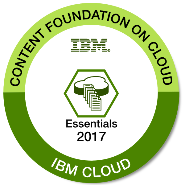 IBM Content Foundation on Cloud - Essentials - 2017