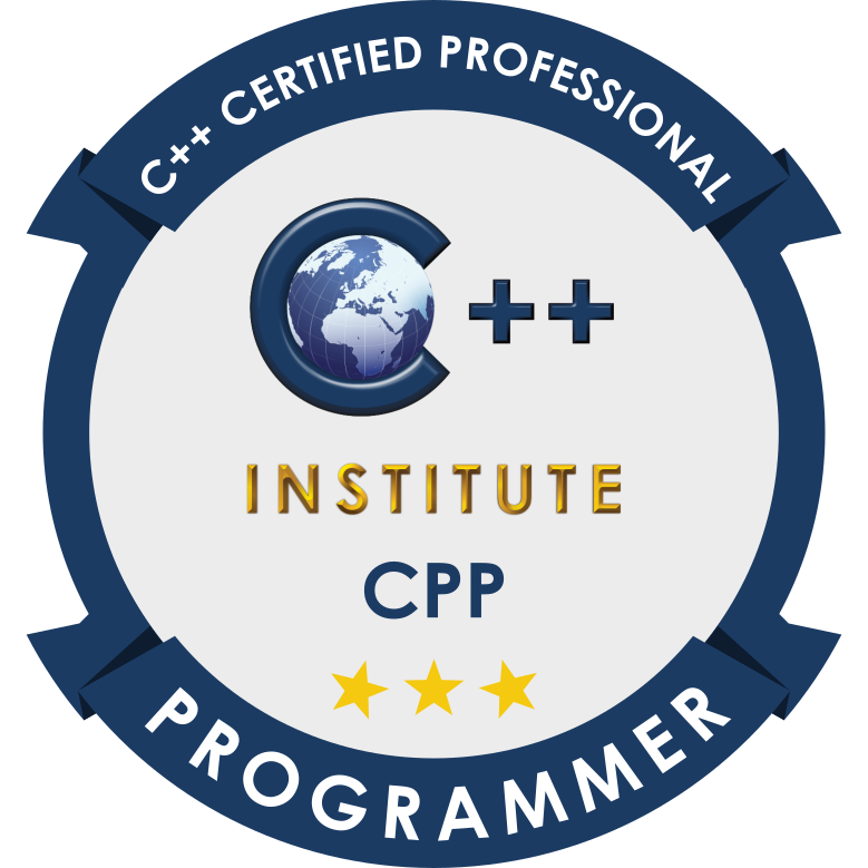 [CPP-22-01] CPP – C++ Certified Professional Programmer