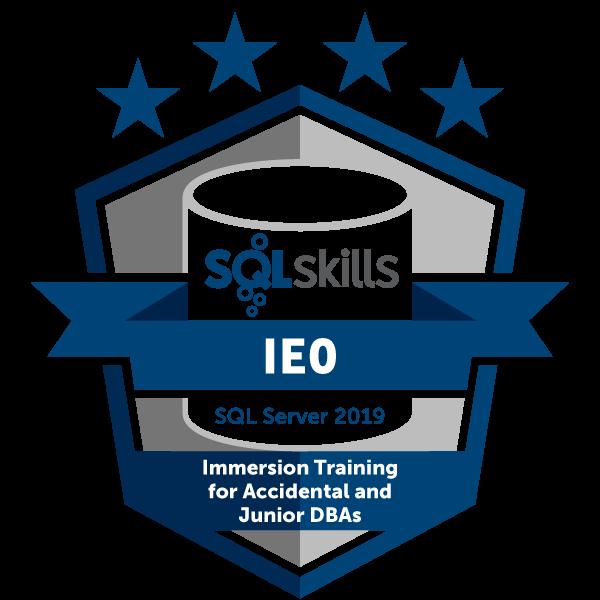 SQLskills IE0 - SQL Server 2019