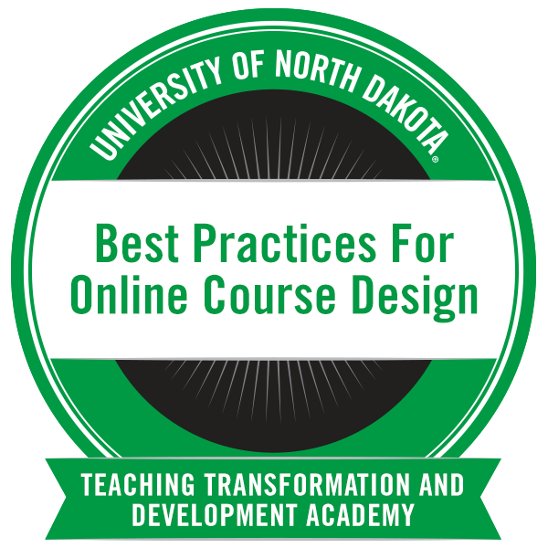 Best Practices For Online Course Design Introductory Course