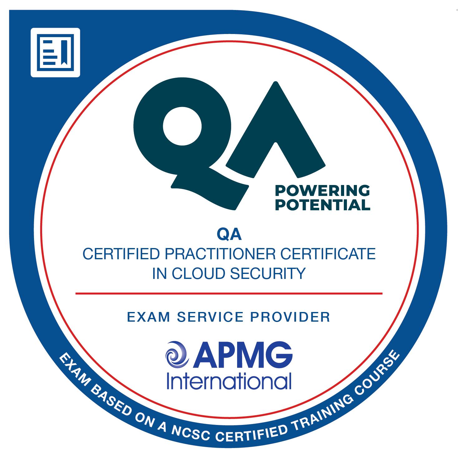 QA Certified Practitioner Certificate in Cloud Security