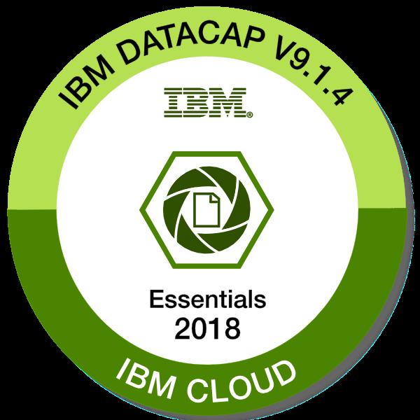 IBM Datacap V9.1.4 - Datacap Essentials