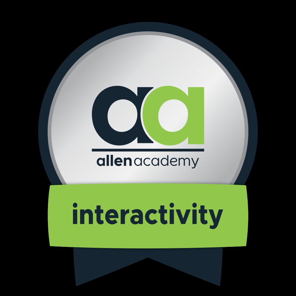 Design 101: Instructional Interactivity