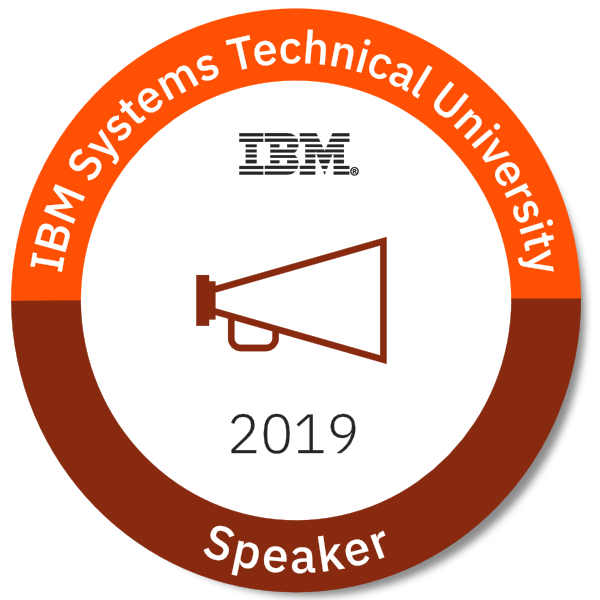 2019 IBM Systems Technical University Speaker