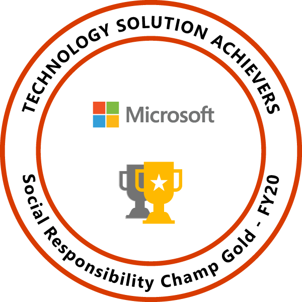 Social Responsibility Champ Gold