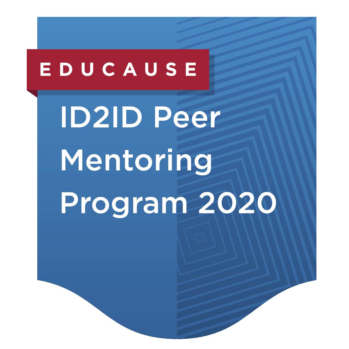 ID2ID Peer Mentoring Program 2020