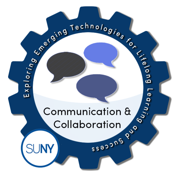 Communication and Collaboration - SUNY #EmTechMOOC