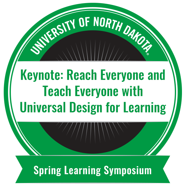Keynote: Reach Everyone and Teach Everyone with Universal Design for Learning