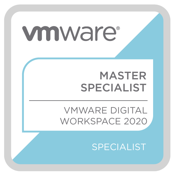 VMware Certified Master Specialist - Digital Workspace 2020