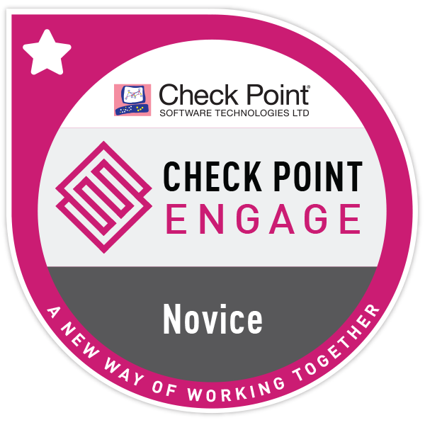 Check Point Engage - Novice