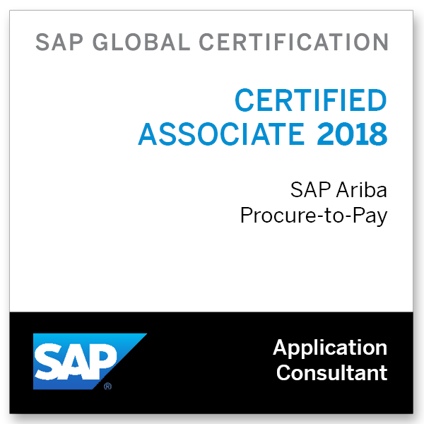 SAP Certified Application Associate - SAP Ariba Procurement 2018