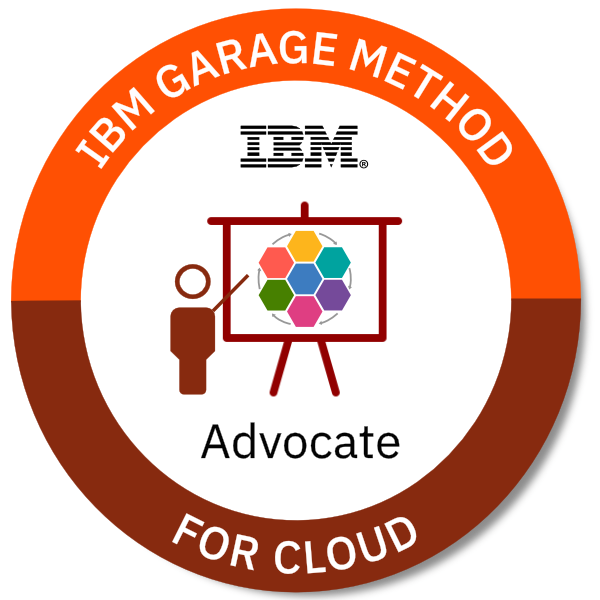IBM Garage Method for Cloud Advocate