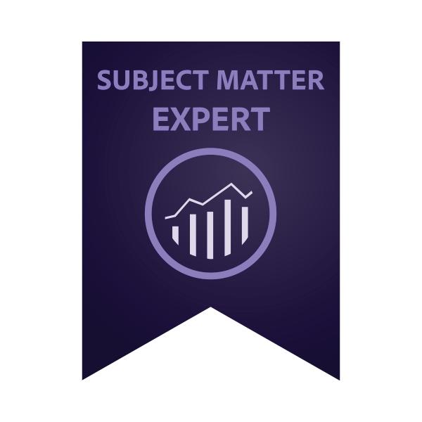 Adobe Subject Matter Expert - Adobe Analytics Business Practitioner Expert